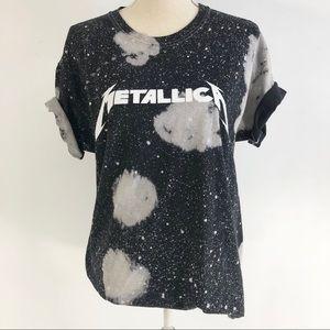 Metallica Graphic T Shirt